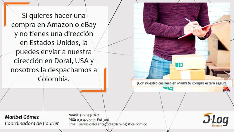 Courier en Amazon - eBay